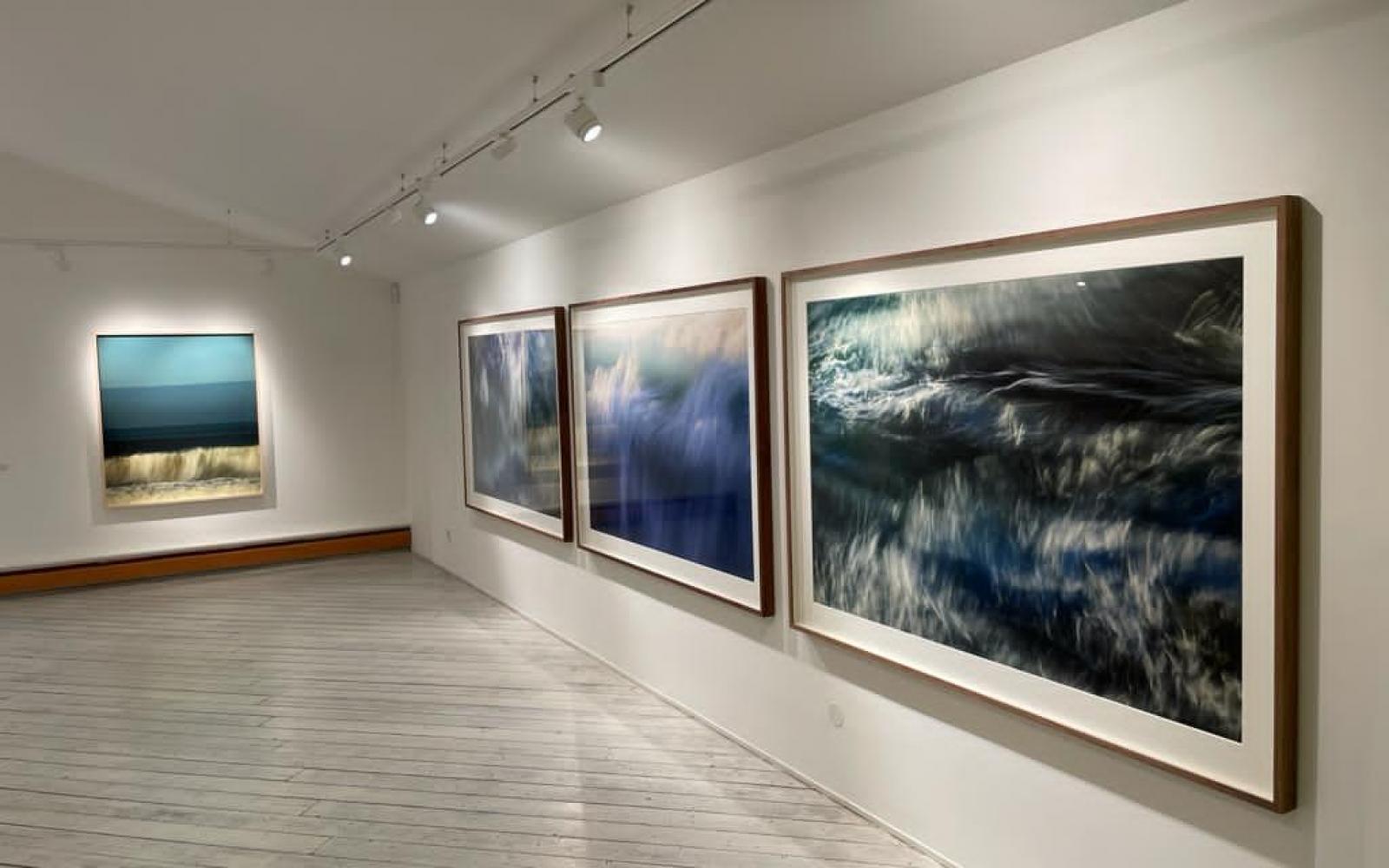 Max Piva Ausstellung Galerie Weihergut