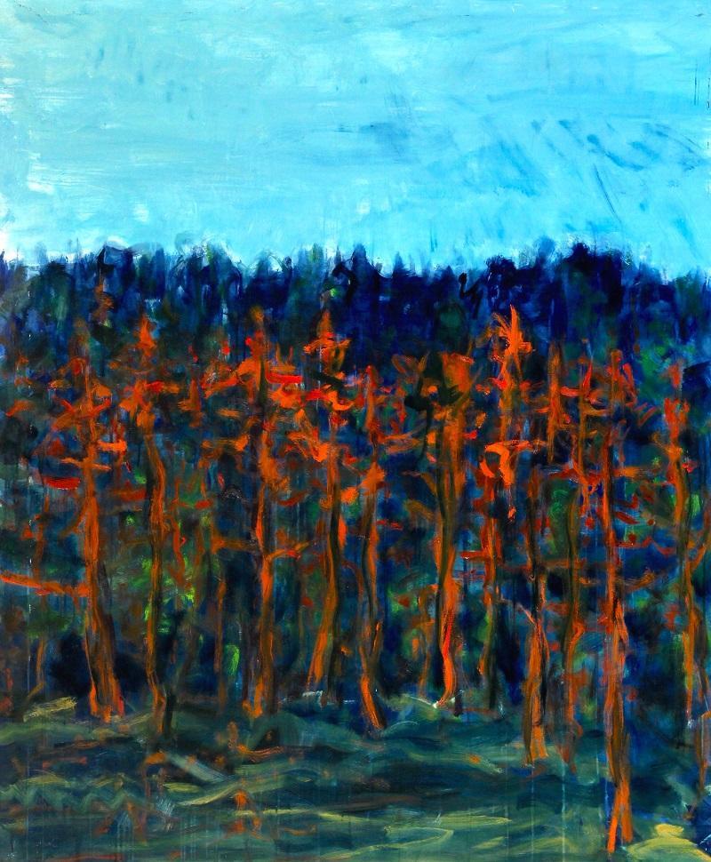 Ferdinand Melichar, Öl auf Leinwand, 170x140 cm, 2019