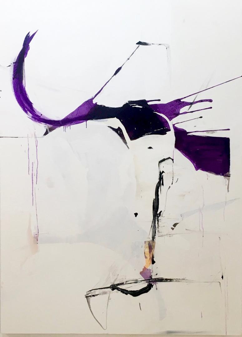 Franco Kappl in der Ausstellung was ist in der Galerie Weihergut in Salzburg