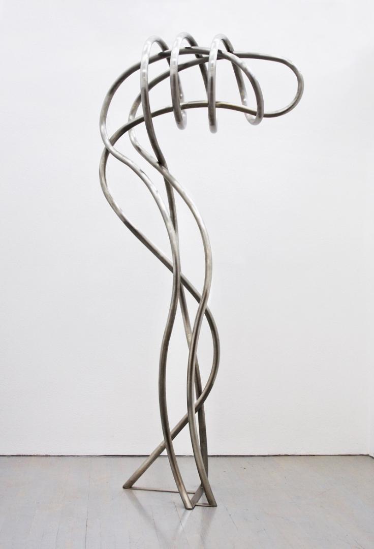 Manfred Wakolbinger, Dances 03, Edelstahl, 260x130x70 cm, 2015