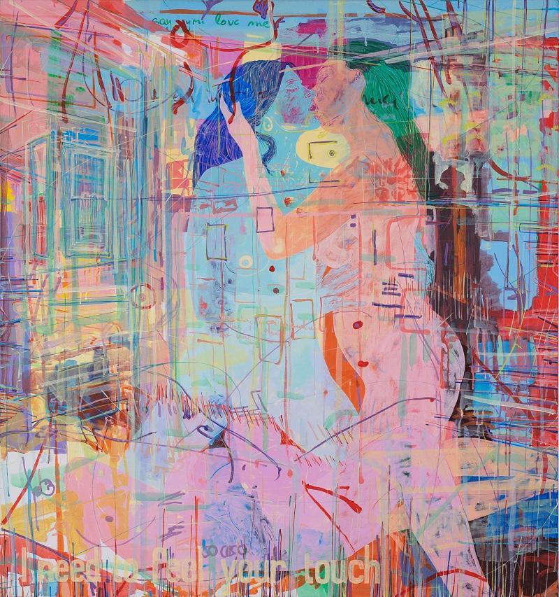 Loretta Stats, O.T dream no. 49, 2005, 150 x 140 cm