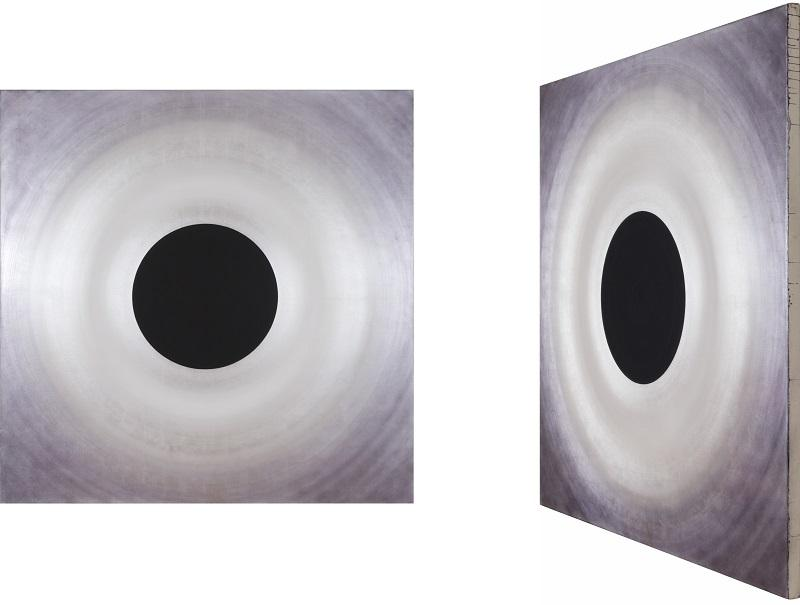 Robert Schaberl ZF deep black in silver dance with white 4-8 2018 (180x) 2 views