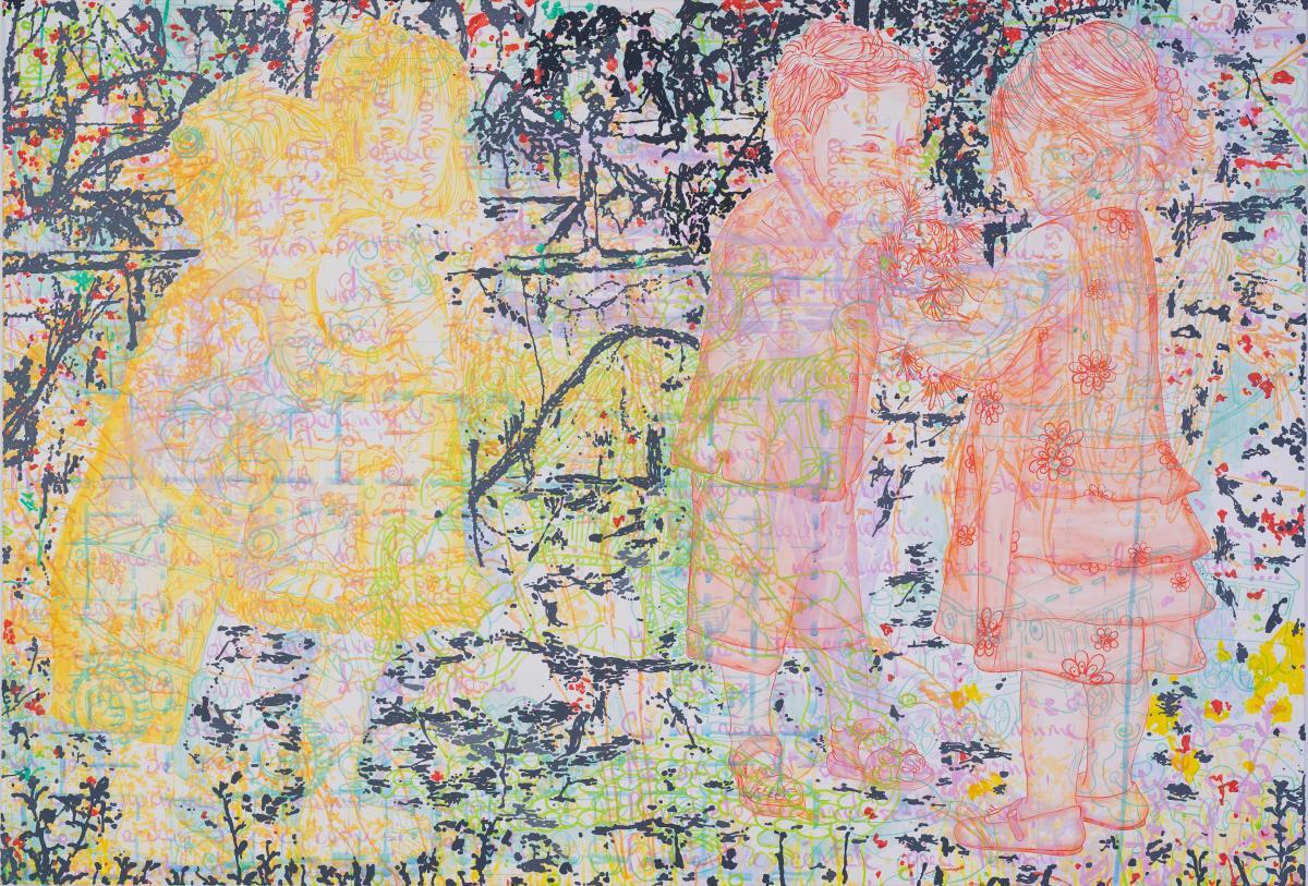 Demoniac temptations, 2019, 150x220cm