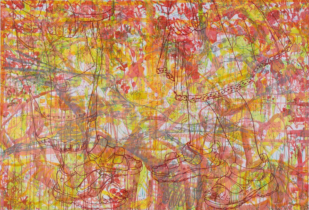 in my solitude, 2007, 150x220cm