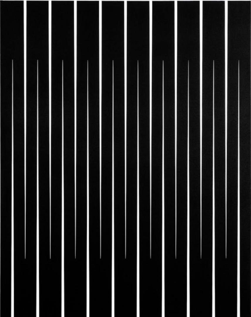 Pablo Griss, Schwarze Wolke, 2018, Acryl auf Leinwand, 125 x 100 cm