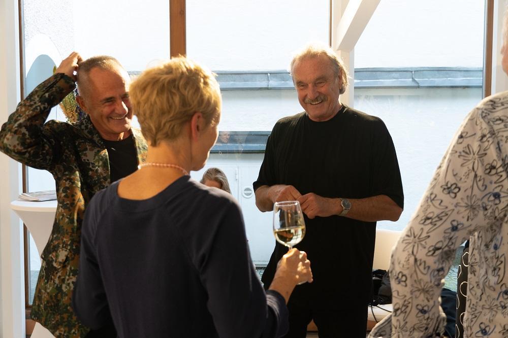 Christoph Ransmayr im Gespräch mit Gerda Ridler und Manfred Wakolbinger