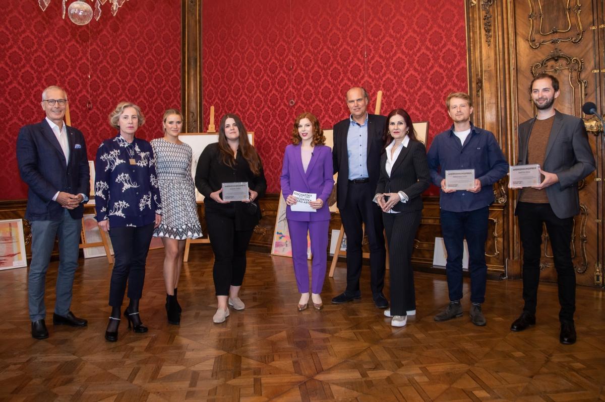 Martin Veigl ausgezeichnet beim Koschatzky Art-Award