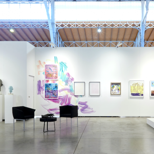 Gesamtansicht Stand A26, Galerie Weihergut x viennacontemporary
