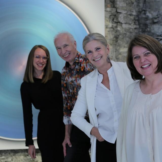 Das Team der L art Galerie