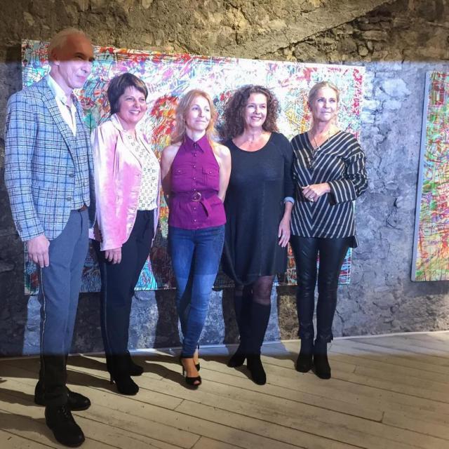 Eröffnung Ausstellung von Loretta Stats